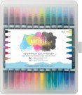 Docrafts Permanent Dual Tip Pens (12pk)  Thick & Thin