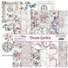 "ScrapBoys 12""x12"" Paper Set - Dream Garden (12 sheets+cut out elements)"