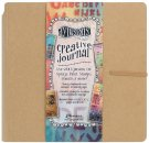 "Dylusions Dyan Reaveleys 8""x8"" Creative Journal - Kraft"