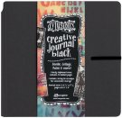 "Dylusions Dyan Reaveleys 8""x8"" Creative Journal - Black"
