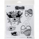 Dyan Reaveleys Dylusions Cling Stamp Collections - The Eyes Have It
