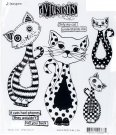 Dyan Reaveley´s Dylusions Cling Stamp Collection - Puddy Cat