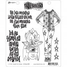 Dyan Reaveleys Dylusions Cling Stamp Collections - Let Me Adjust My Crown
