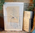 Impression Obsession Rubber Stamp - Small Twiggy Tree