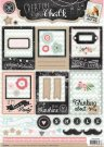 Studio Light A4 Creative with Chalk Die Cut Sheet #463