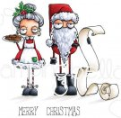 Stamping Bella Cling Stamps - Oddball Santa & The Missus