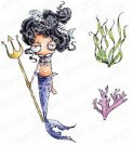 Stamping Bella Cling Stamps - Oddball Mermaid Set