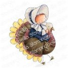 Stamping Bella Cling Stamps - Bundle Girl On A Turkey