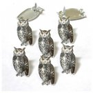 Eyelet Outlet Shape Brads - Sketched Owls (12 pack)