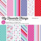 "My Favorite Things - Sweet Stack 6""x6"" Paper Pack"