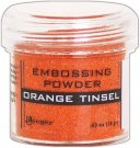 Ranger Embossing Powder - Orange Tinsel