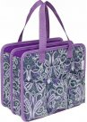Everything Mary Makers Carry-All Tote - Gray & Purple Paisley with Purple Trim
