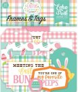 Echo Park Easter Wishes Cardstock Die-Cuts - Frames & Tags (33 pack)