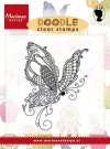 Marianne Design Clearstamp - Doodle Butterfly