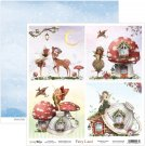 "ScrapBoys 12""x12"" Fairy Land Paper Sheet"
