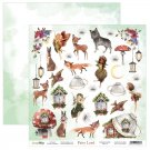 "ScrapBoys 12""x12"" Fairy Land Paper Cut Out Elements Sheet"
