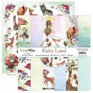 "Scrapboys 12""x12"" Paper Set - Fairy Land (12 sheets+cut out elements)"
