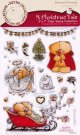 FOREVER FRIENDS CLEAR STAMP SET - A CHRISTMAS TALE (CHRISTMAS BELLS)