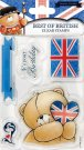 Forever Friends - Best Of British Clear Stamp Set (Great Big Hugs)