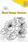 Nellies Choice Clear Stamp - Hibiscus Flower