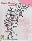 Nellies Choice Clearstamp - Bouquet of Wild Flowers #2
