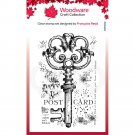Woodware A7 Clear Stamps - Old Key