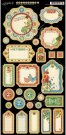 Graphic 45 - Home Sweet Home Chipboard Die-Cuts (Journaling)