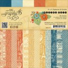"Graphic 45 - 6""x6"" Worlds Fair Patterns & Solids Paper Pad (36 sheets)"