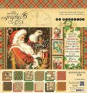 "Graphic 45 - 8""x8"" St Nicholas Paper Pad (24 sheets)"