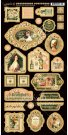 "Graphic 45 - Portrait Of A Lady 6""x12"" Chipboard Die-Cut Decorative Sheet"
