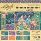 "Graphic 45 - 12""x12"" Midnight Masquerade Paper Pad (24 sheets)"