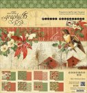 "Graphic 45 - 8""x8"" Winter Wonderland Paper Pad (24 sheets)"