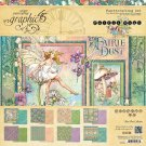 Graphic 45 - 12x12 Fairie Dust Paper Pad (16 sheets)