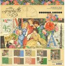 "Graphic 45 - 12"" x 12"" Little Women Collection Pack (17 sheets)"