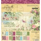 "Graphic 45 - 8""x8"" Bloom Collection Pack (24 sheets)"