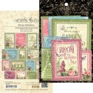 Graphic 45 - Bloom Ephemera Cards (32 pack)