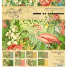 "Graphic 45 8""x8"" Paper Pad - Lost in Paradise (24 sheets)"