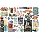 Graphic 45 - Life's A Journey Cardstock Die-Cut Assortment