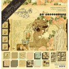 "Graphic 45 Deluxe Collector's Edition Pack 12""x12"" - Le Romantique"
