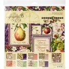 "Graphic 45 - 12""x12"" Fruit & Flora Collection Pack (17 sheets)"