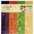 "Graphic 45 - 12""x12"" Fruit & Flora Paper Pad (16 sheets)"
