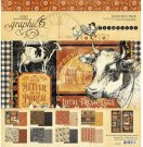 Graphic 45 - 12x12 Farmhouse Collection Pack (24 sheets)