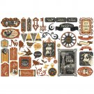Graphic 45 - Farmhouse Cardstock Die-Cut Assortment
