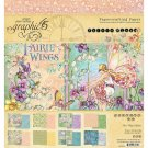 "Graphic 45 Double-Sided 8""x8"" Paper Pad - Fairie Wings (24 sheets)"