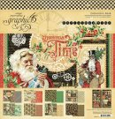"Graphic 45 Christmas Time 12""x12"" Collection Pack (17 sheets)"