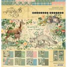 "Graphic 45 Collection Pack 12""x12"" - Woodland Friends (17 sheets)"