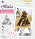 Crafters Companion Gemini Double-Sided Dies - Triangle Box