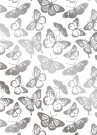 Gemini FOILPRESS Stamp Die Elements - Beautiful Butterflies Background