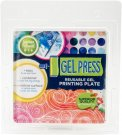 PolyGel GelPress Reusable Gel Printing Plate - Square (15.2x15.2cm)