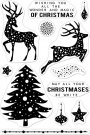 "Hero Arts 4""x6"" Clear Stamp Set - Wonder & Magic Of Christmas"